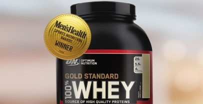 The World's No.1 selling protein powder GOLD STANDARD 100% WHEY