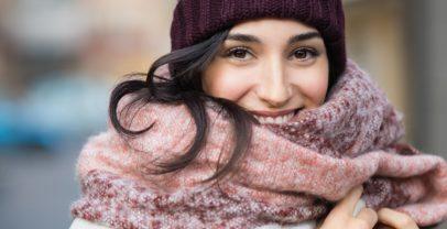 إحمِ بشرتك وشعرك وأظافرك من البرد القارس
